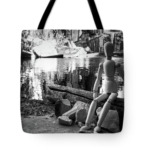 Thoughts Reflected Tote Bag