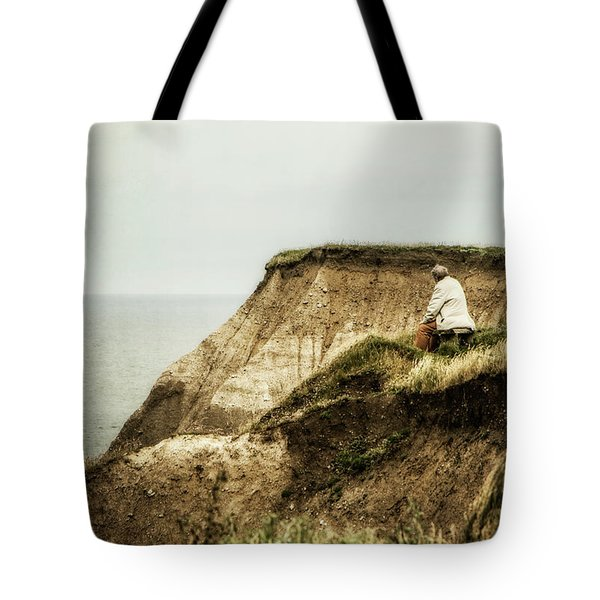 Tote Bag featuring the photograph Thoughts Travel Far by Odd Jeppesen