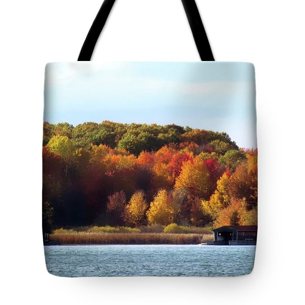 Thousand Island Color Tote Bag