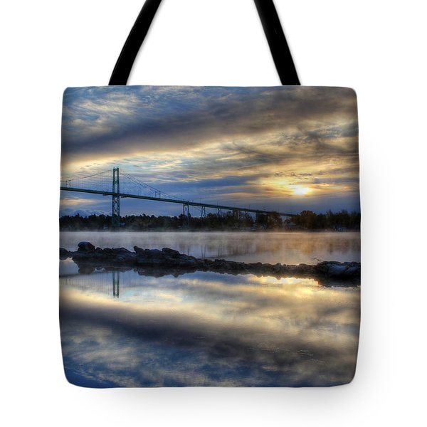 Thousand Islands Bridge Tote Bag