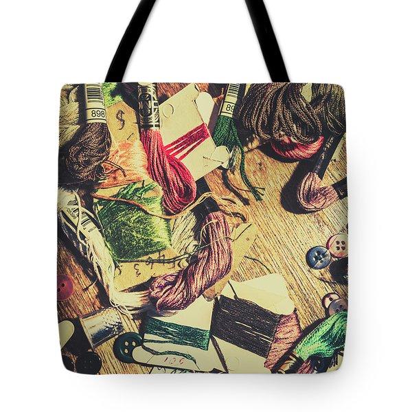 Threadbare Tote Bag
