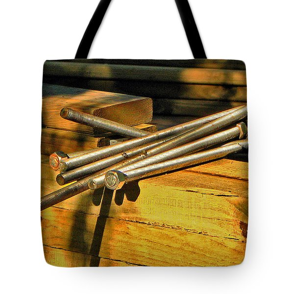 Threads And Grains Tote Bag