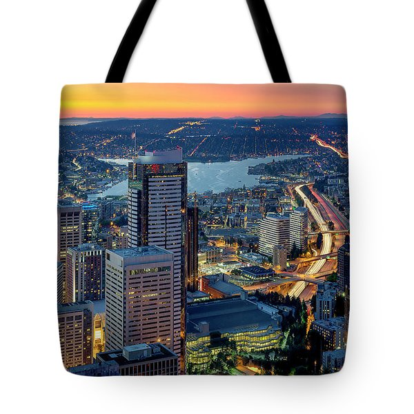 Threads Of Life Tote Bag by Ryan Manuel