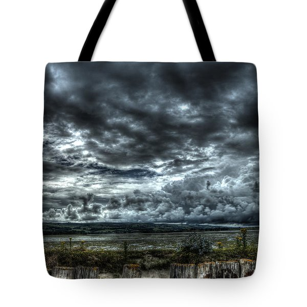 Threatening Sky Tote Bag