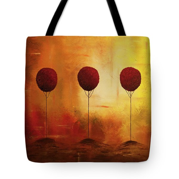 Three Alone But Together Tote Bag