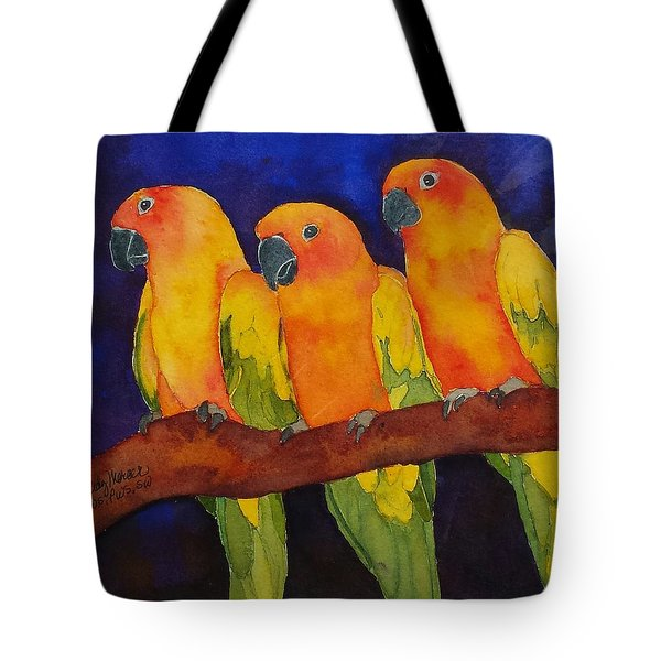 Three Amigos Tote Bag