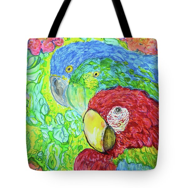 Three Amigos Tote Bag by Susan D Moody