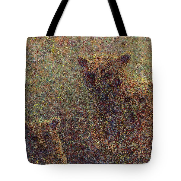 Three Bears Tote Bag by James W Johnson
