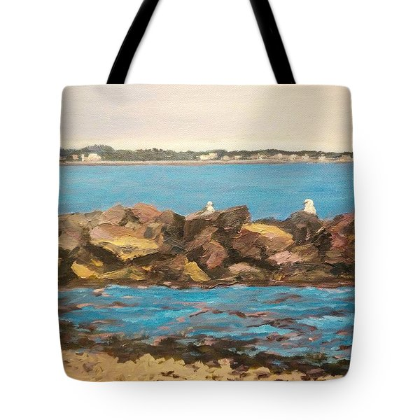 Three Birds Resting Tote Bag
