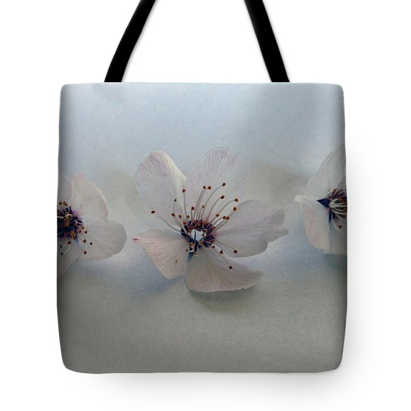 Three Blossoms Tote Bag