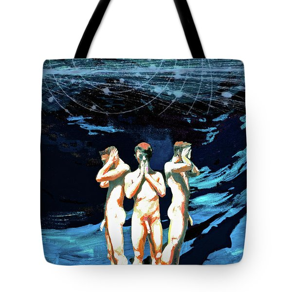 Three Boys, Hear No Evil, Speak No Evil, See No Evil Tote Bag
