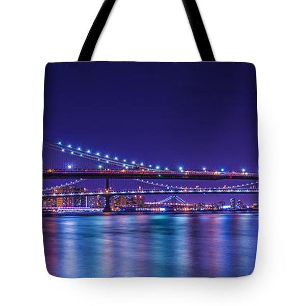 Three Bridges Tote Bag