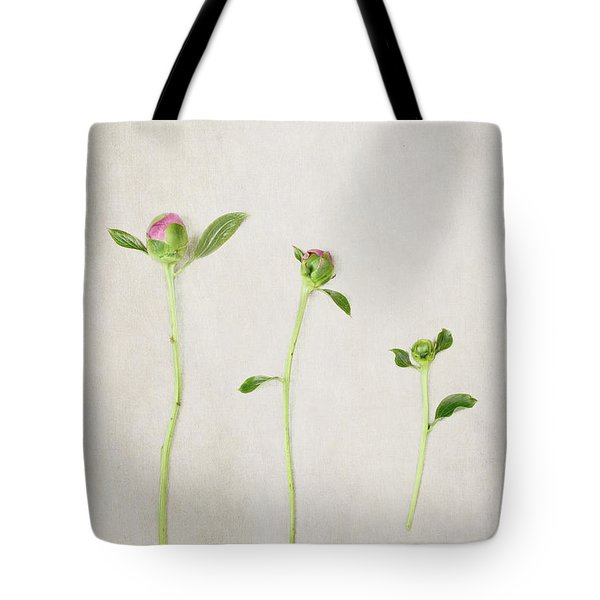 Three Buds Tote Bag