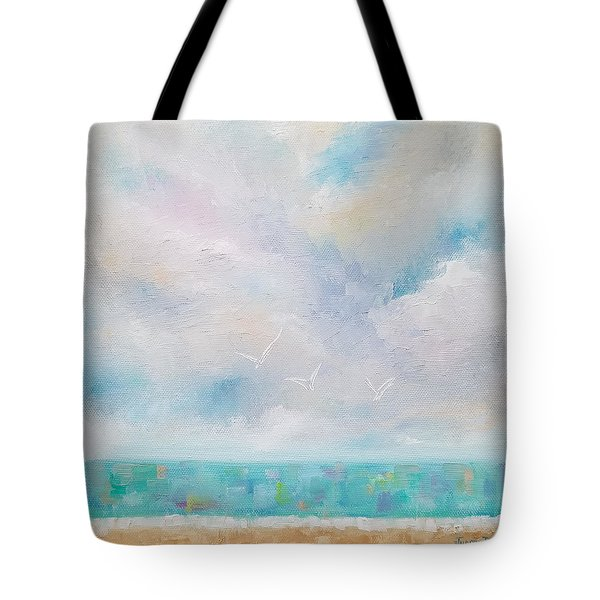 Three By The Sea Tote Bag