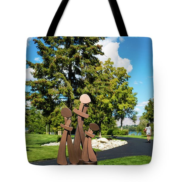 Three By Three Tote Bag