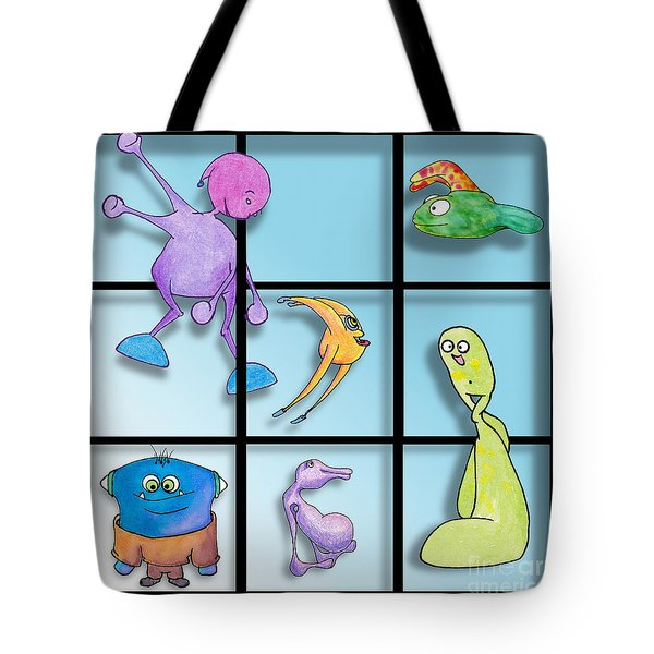 Three By Whee Tote Bag