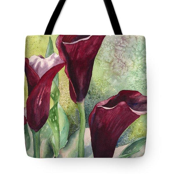 Three Callas Tote Bag