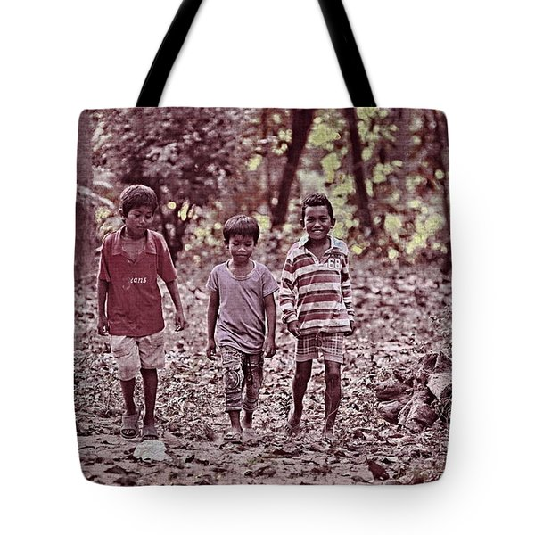 Three Campanions Tote Bag