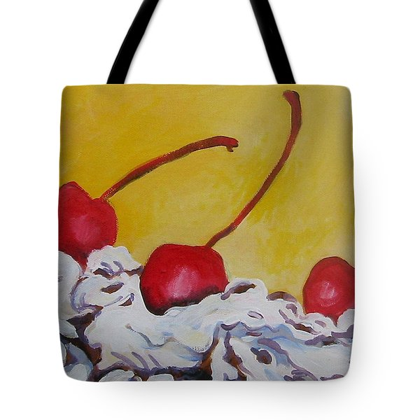 Three Cherries Tote Bag