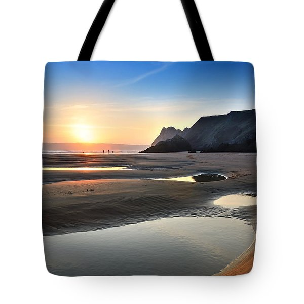 Three Cliffs Bay 2 Tote Bag