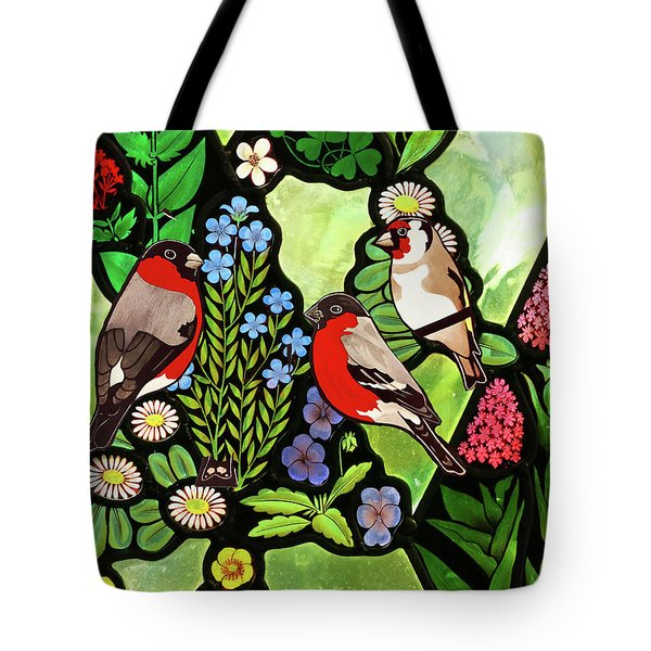 Tote Bag featuring the photograph Three Company by Munir Alawi
