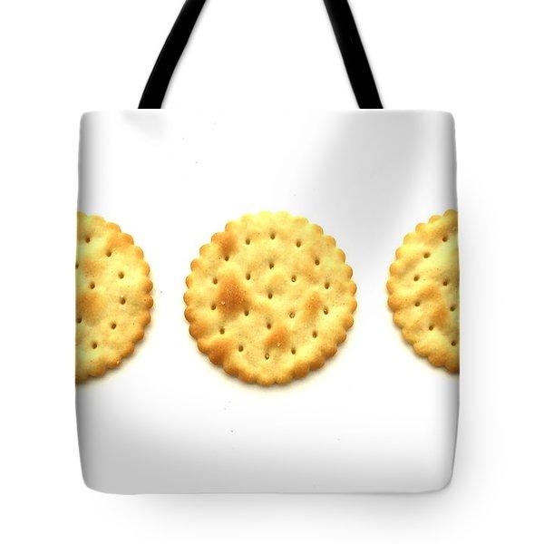 Three Crackers Tote Bag