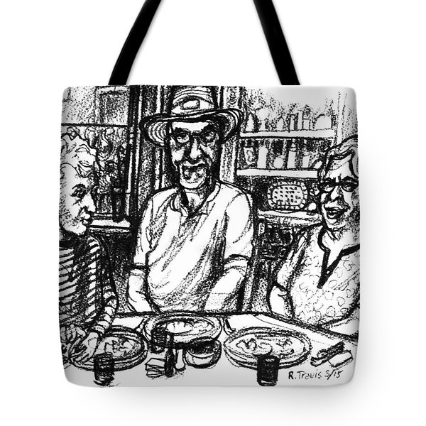 Three Diners Tote Bag