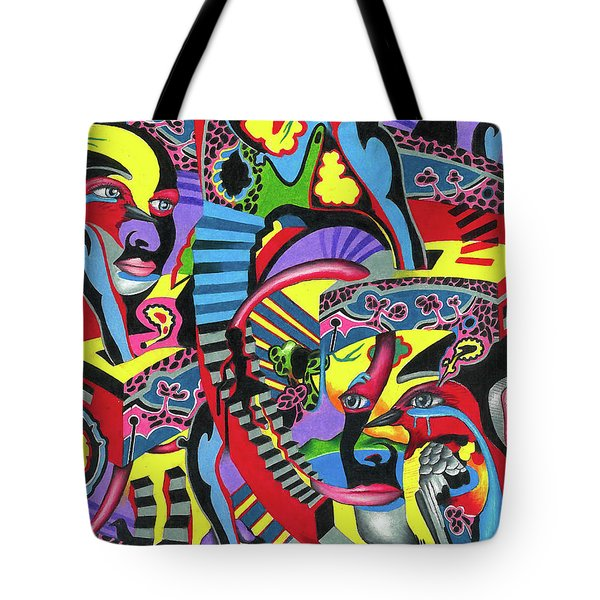 Three Disguises Of An Abstract Thought Tote Bag