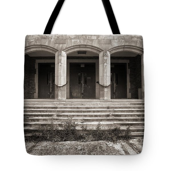 Three Doors Tote Bag