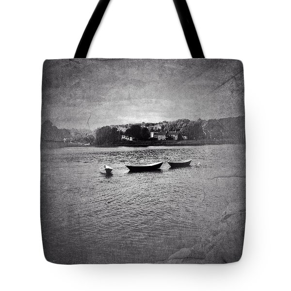 Three Dories Tote Bag by Ann Tracy