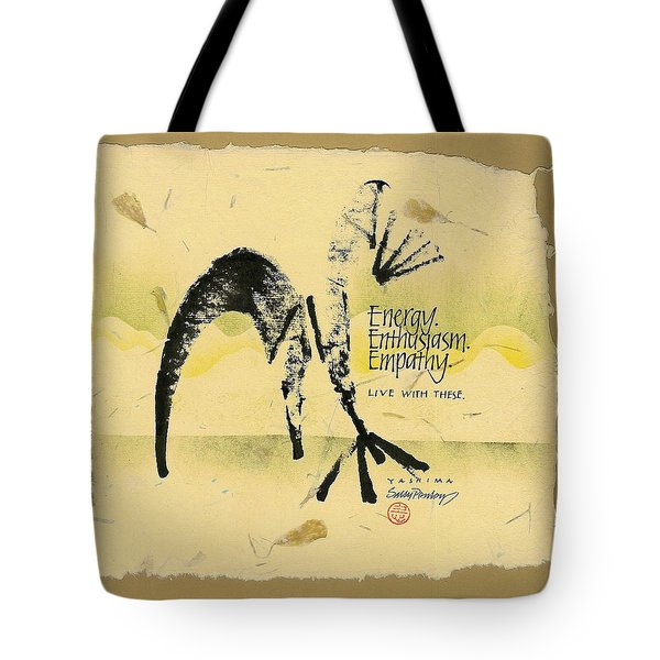 Three E's Tote Bag