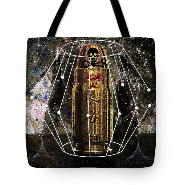 Three Fifty Seven Sig Tote Bag by Iowan Stone-Flowers