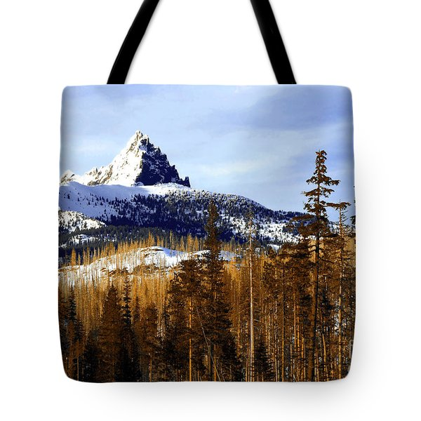 Three Fingered Jack Tote Bag by Steve Warnstaff