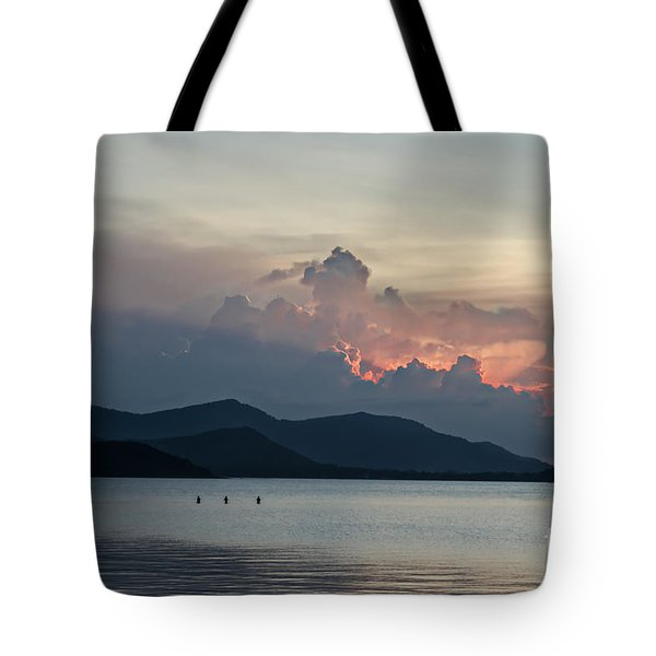 Three Fishermen Tote Bag