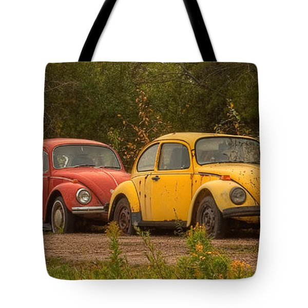 Three For The Road Tote Bag
