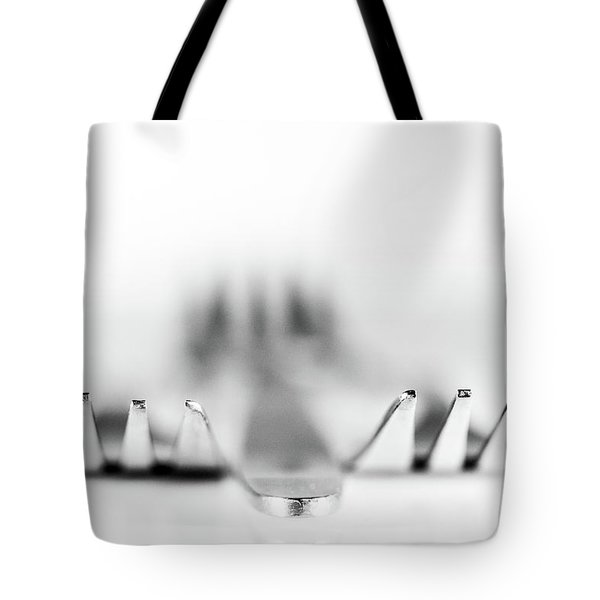 Tote Bag featuring the photograph Three Forks by Gary Gillette