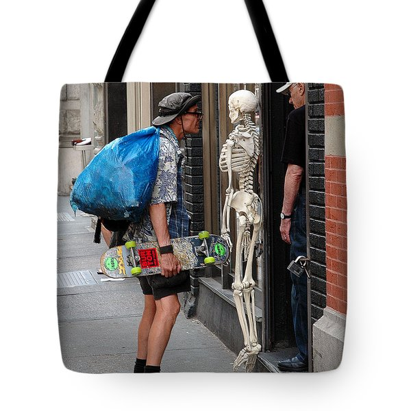 Tote Bag featuring the photograph Three Friends by Dorin Adrian Berbier