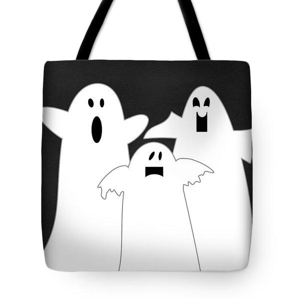 Three Ghosts Tote Bag