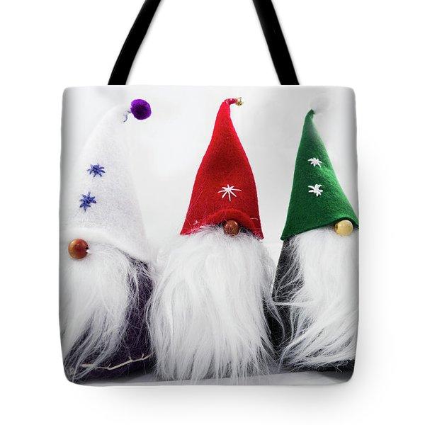 Three Gnomes 2 Tote Bag