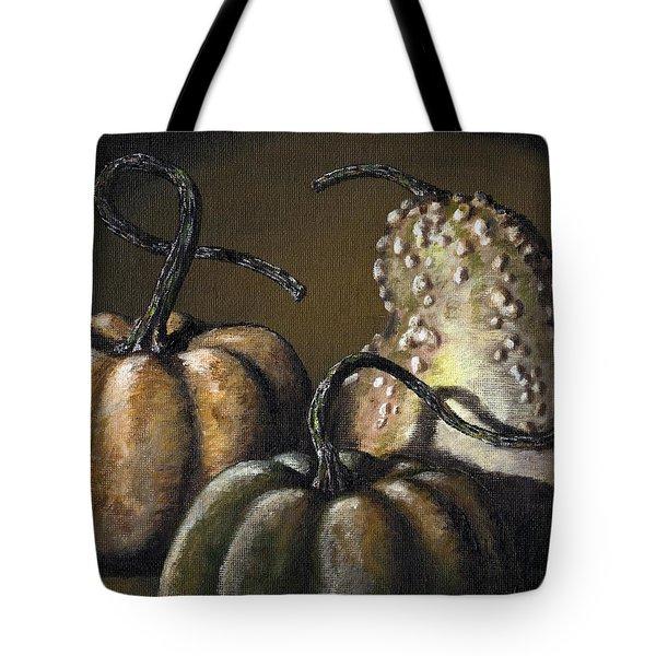 Three Gourds Tote Bag by Adam Zebediah Joseph