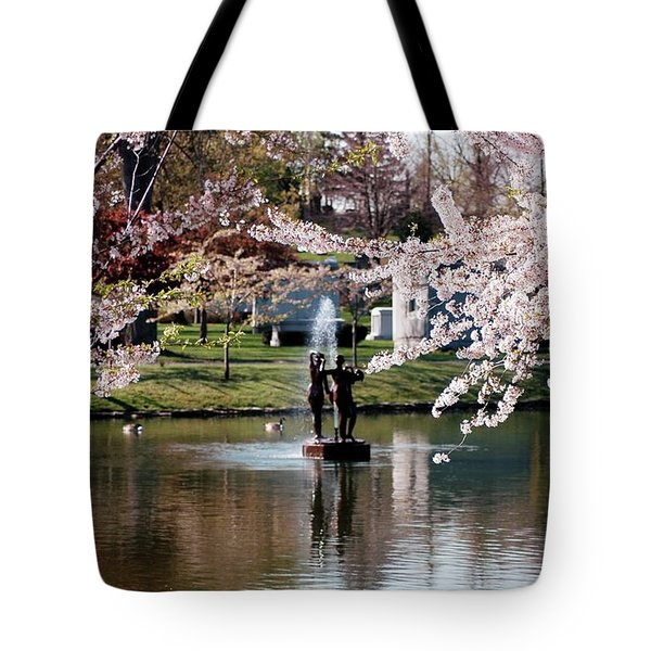 Three Graces Tote Bag by Kathleen Struckle