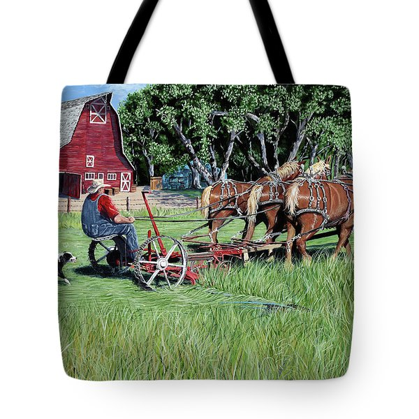 Three Horsepower Tote Bag