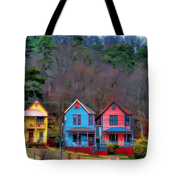 Three Houses Hot Springs Ar Tote Bag