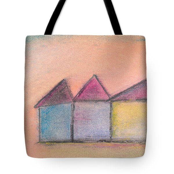 Three Houses Tote Bag