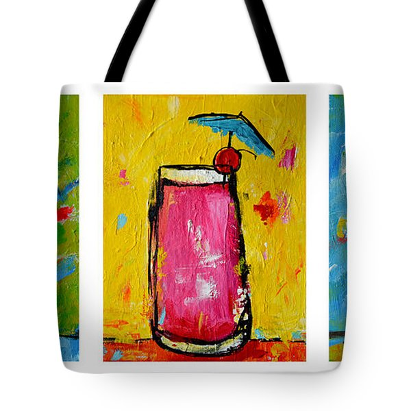 Three In A Row Happy Hour Time Tote Bag
