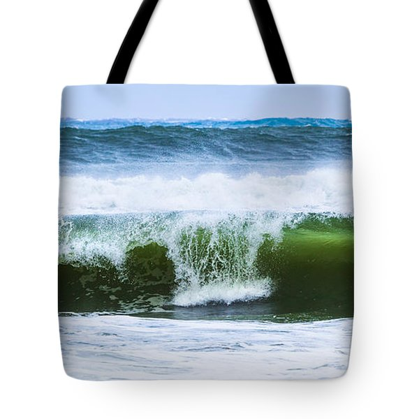 Tote Bag featuring the photograph Three In A Row by Michelle Wiarda