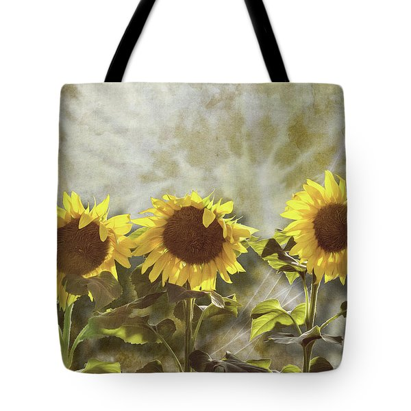 Three In The Sun Tote Bag