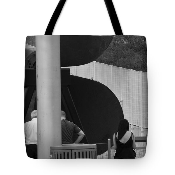 Three Is A Company Tote Bag