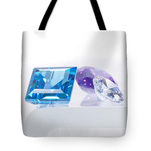 Three Jewel Tote Bag