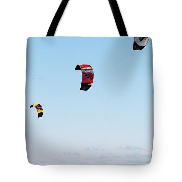 Three Kites Tote Bag